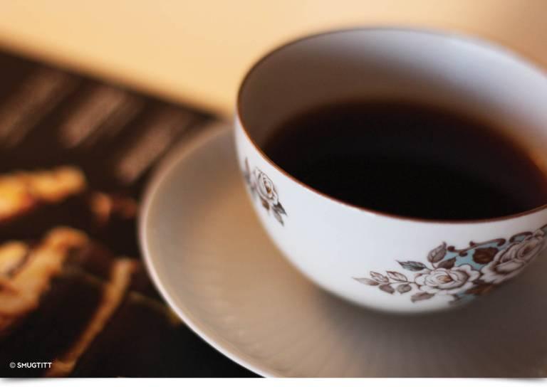 kaffe liggende